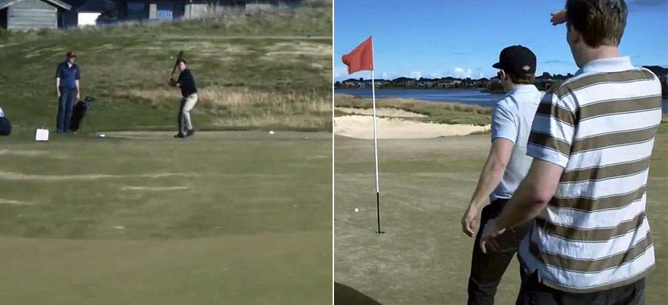 Homer-In-One: Unreal Video Of The Greatest Shot You'll Ever See Today