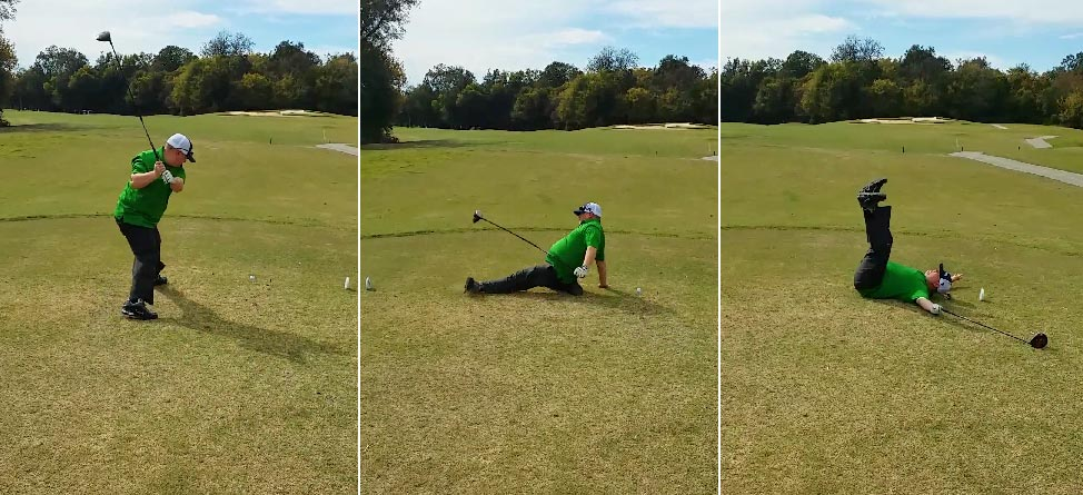 This Might Be The Worst (Best) Happy Gilmore Fail Ever