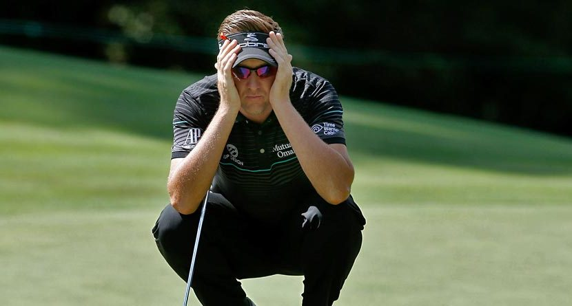 Ian Poulter Rants On Twitter About His Putting, Even After Lesson