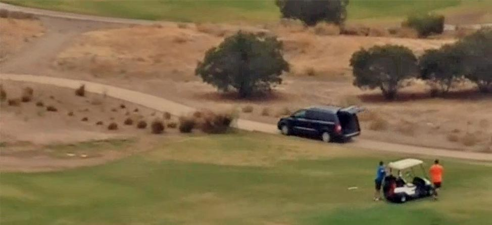 One Day, Two Chases: Another Car Tears Through California Course