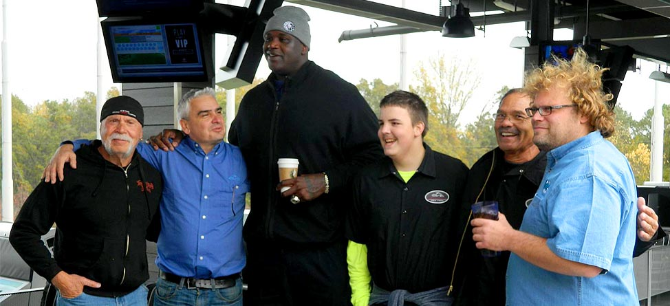 Must-See TeeV: Shaq, Orange County Choppers Visit TopGolf