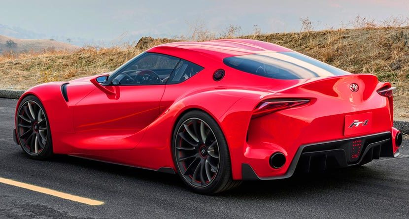 First Look: Toyota FT-1 Concept