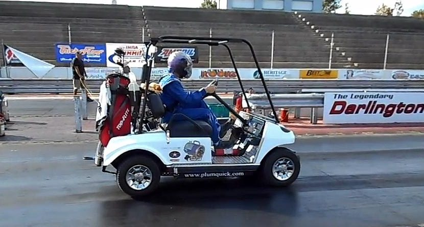 High Speed Golf: World's Fastest Cart Goes 118 MPH