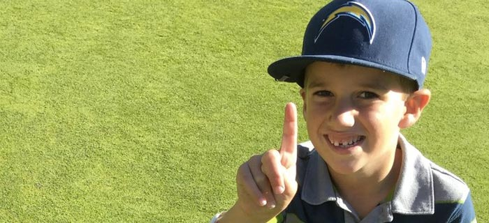 6-Year-Old Makes Two Holes-In-One In Same Round