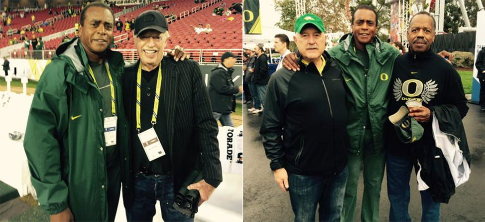 Ahmad Rashad Takes In Pac-12 Championship Game