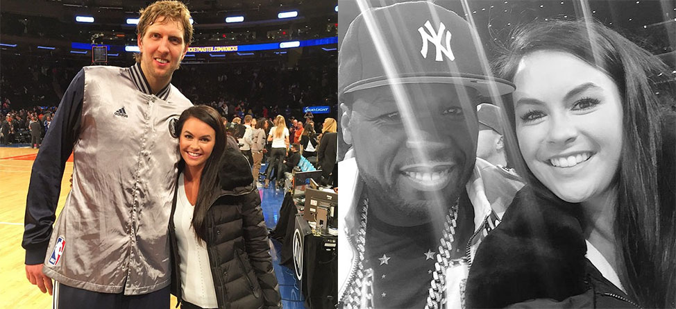 Jason, Amanda Dufner Visit NYC, Hang Out With 50 Cent