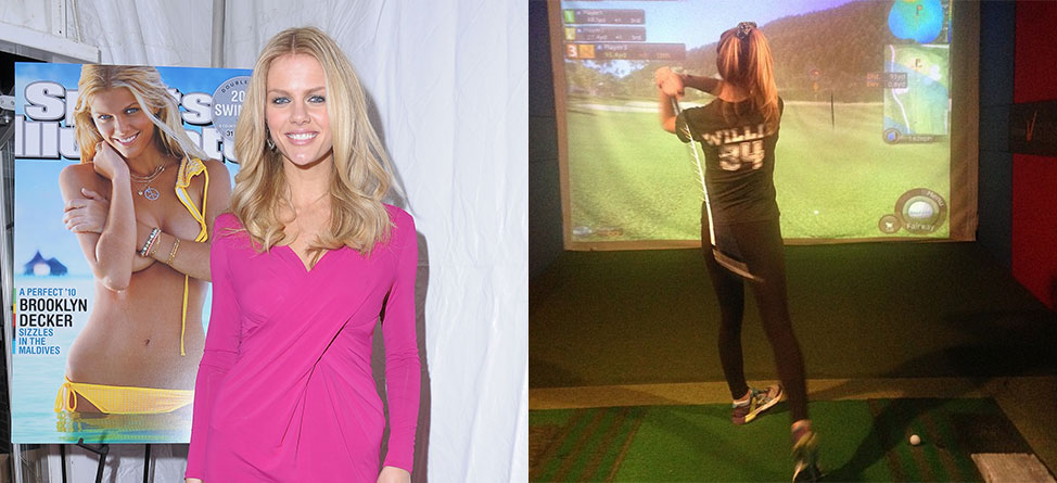 Best Week Ever? Now Brooklyn Decker Plays Golf, Too
