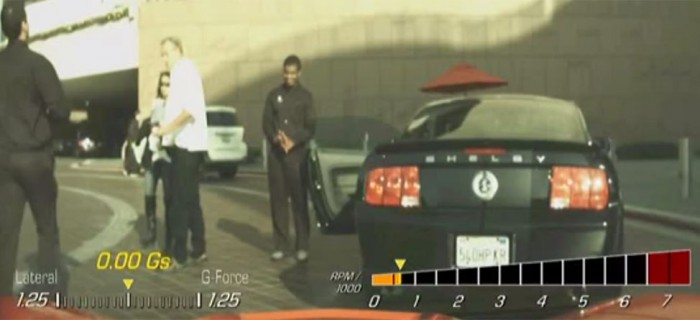 Corvette Stingray Dash Cam Catches Valet Misbehaving