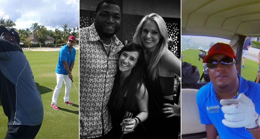 David Ortiz's Annual Celebrity Golf Tournament Looked Like A Blast