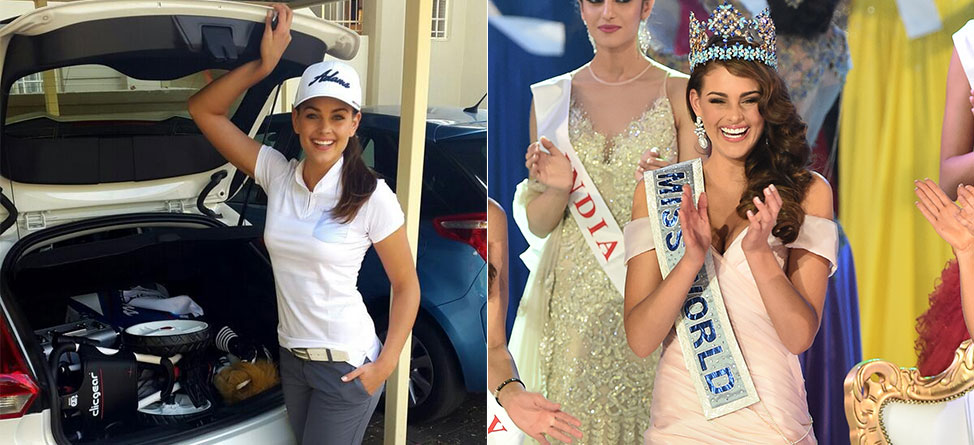 Newly-Crowned Miss World 2014, Rolene Strauss, Is A Golfer
