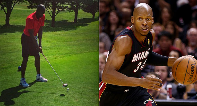 He Got Game: Ray Allen Shoots 74 At Augusta National