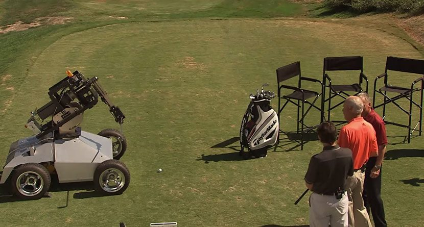 'RoboPro' Shows Off TaylorMade RSi Irons' Forgiveness
