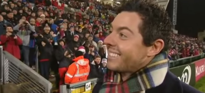 Rory McIlroy Trolled By Crowd Chanting 'Sweet Caroline'