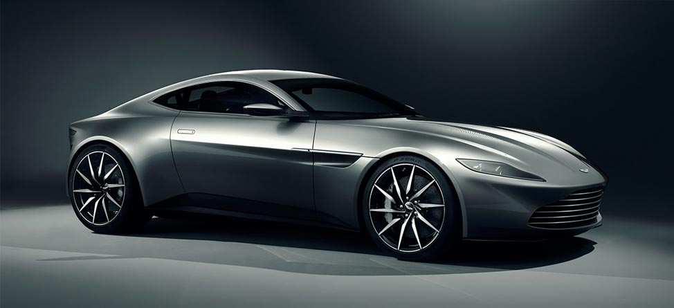 Sunday Drive: Aston Martin DB10 & Our Top James Bond Cars