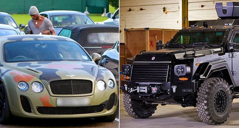 9 Outrageous Cars Owned By Athletes