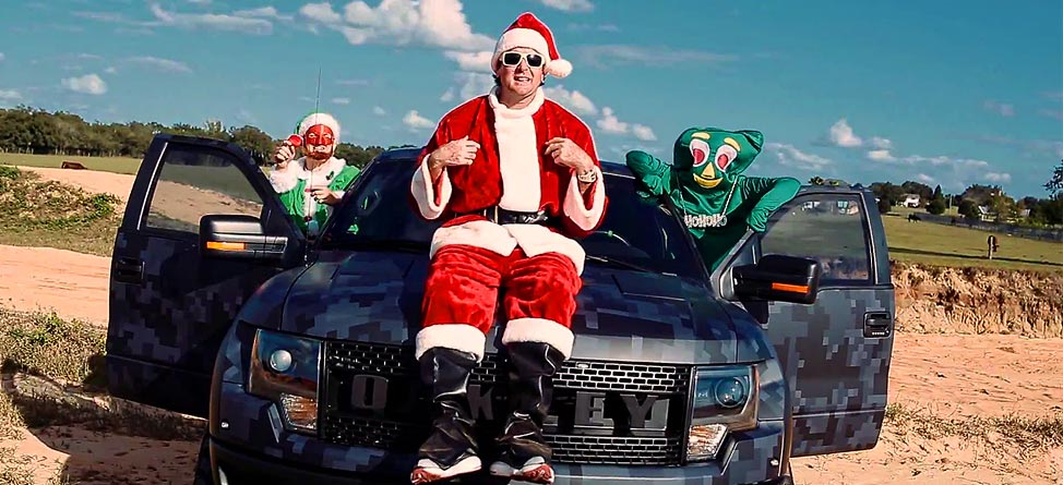 Bubba Watson Drops 'Bubba Claus' Single Feat. Gumby & A Creepy Elf