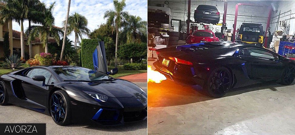 MLB Star's Lamborghini Spits Fire — Literally