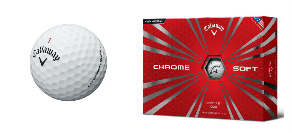 Game Changer: Callaway Unveils Chrome Soft Golf Ball