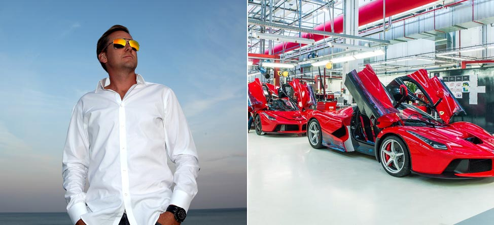 Ian Poulter To Get Fitted For New $1.35M Ferrari