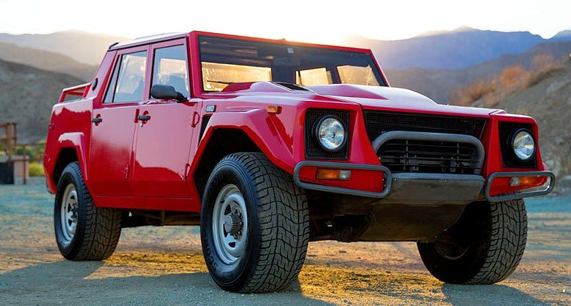Sunday Drive: 1989 Lamborghini SUV & The Coolest Lambo Products