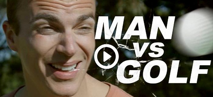 Watch 'Bear Grylls' Go Out Of His Element In 'Man Vs. Golf'