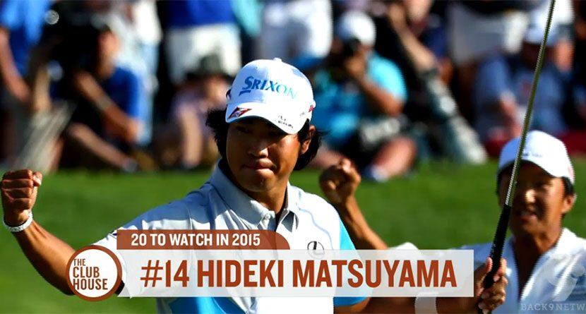 The Clubhouse's 20 For 2015: No. 14 Hideki Matsuyama