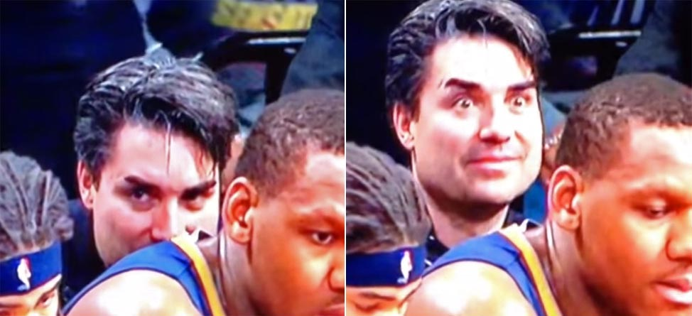 Creepy NBA Fan Sniffs Sweaty Jersey In Bizarre Video