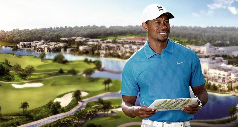 Tiger Woods To Design Donald Trump Course In Dubai