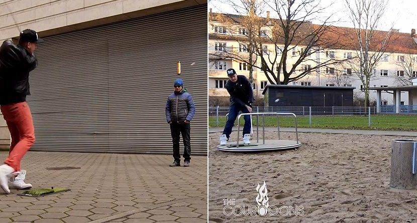 Street Trick Shots Are Dangerous Yet Incredibly Enticing