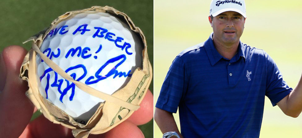 The Beers Are On Ryan Palmer Today At No. 16