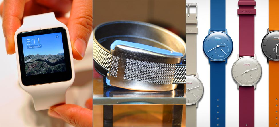 CES 2015: Best Of Belts, Watches & All Things Wearable