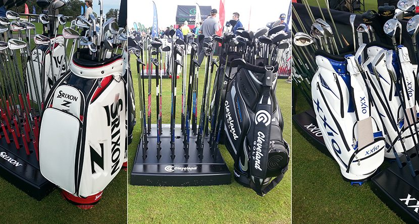 2015 PGA Show: Srixon/Cleveland Golf Makes A Splash At Demo Day
