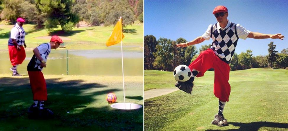 Watch: Rob Dyrdek & The Crew Play Footgolf In 'Fantasy Factory'