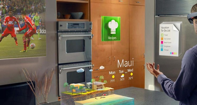 Microsoft HoloLens Brings 3D Holograms To Life