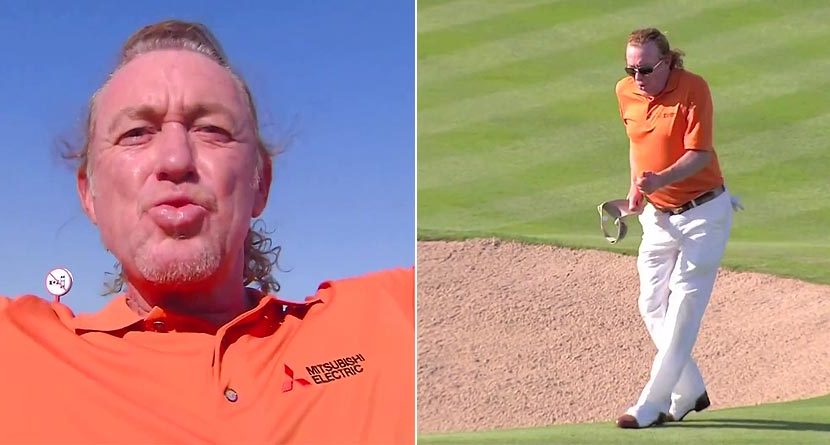 Watch Miguel Angel Jimenez Sink 'The World's Most Interesting Ace'