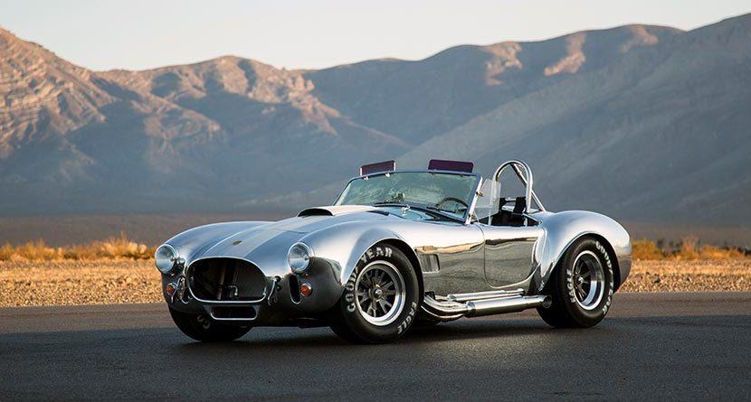 Sunday Drive: $180K 50th Anniversary Shelby Cobra 427