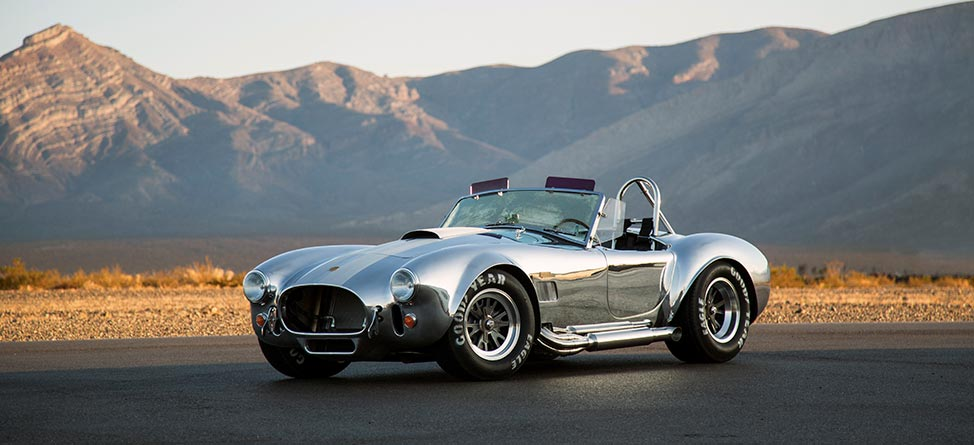 Sunday Drive: $180K 50th Anniversary Shelby Cobra 427