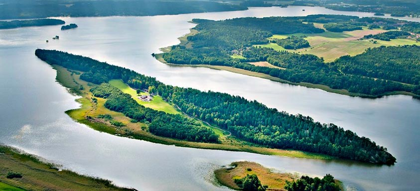 Buy Tiger Woods' Old Island, Complete With Cabin & Viking Stronghold