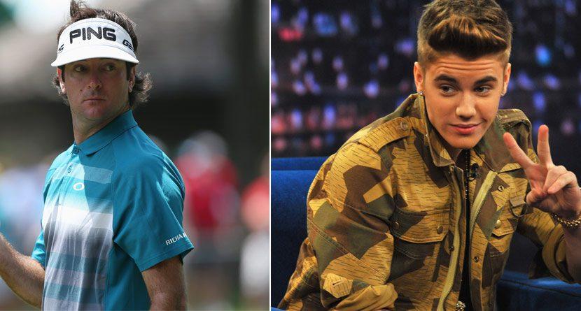 Bubba Watson Offers Advice To … Justin Bieber?