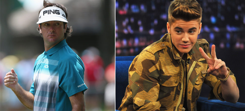 Bubba Watson Offers Advice To … Justin Bieber?