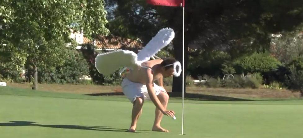 Good v. Evil: Golf Course Hooligans Help, Torment Golfers