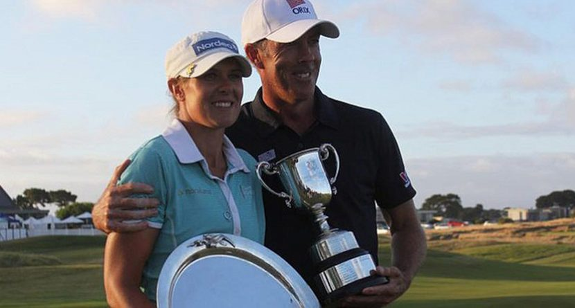 Best Week Ever? Pro Makes Ace, Wins & So Does His Fiancee