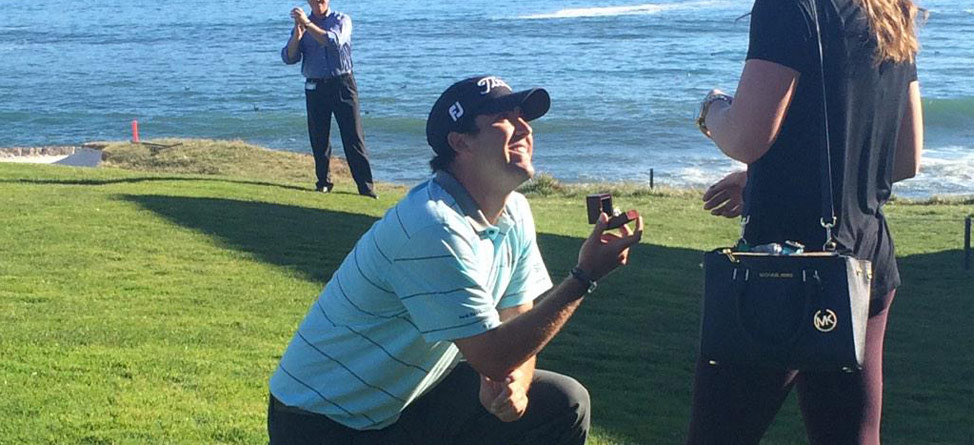 Put A Ring On It: Tour Pro Proposes At Pebble Beach