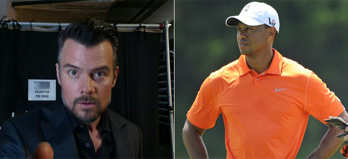 With Tiger Woods Out, Josh Duhamel Set To Revive Golf