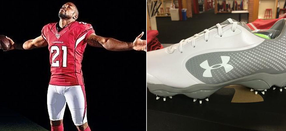 Jordan Spieth Hooks Up Patrick Peterson With Sweet Under Armour Shoes