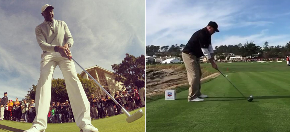 Celebrities Show Off At Pebble Beach