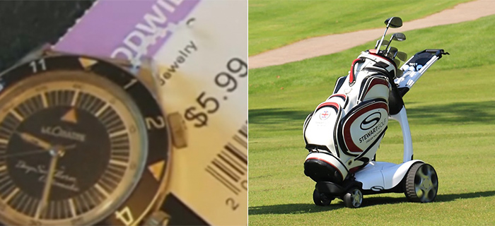 Search For Push Cart Leads Man To $35,000 Watch