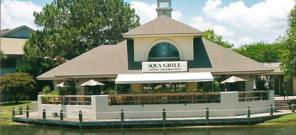 Aqua Grill: Good Food, Great Wine & A Walk From Sawgrass