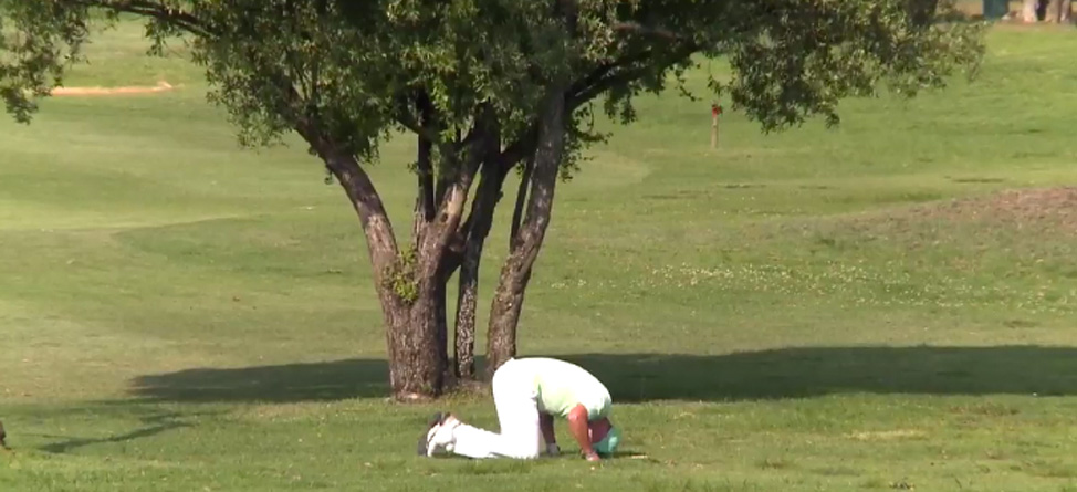 Video: Professional Golfer Makes Most Painful Triple Bogey Ever