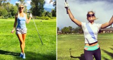 Photos: Golf Beauty Julia K
